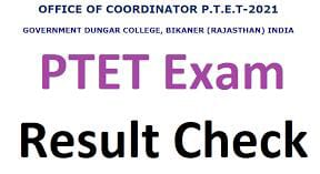 You are currently viewing PTET Result 2021: Rajasthan PTET Cut Off Merit List Download